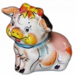 Свинка цветная 9 см., арт.2582