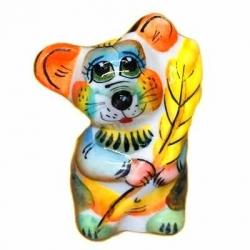 Цветной мышонок с колоском 5 см., арт. 2693