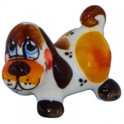 Собачка цветная, 4.5 см, арт 2022