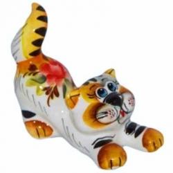 Кот цветной 13 см, арт 1072
