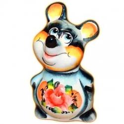 Мышь-мальчик цветной 8 см, арт.2651