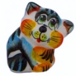 Кот цветной 4.5 см, арт 1089
