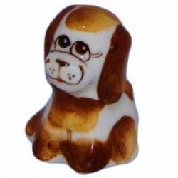 Собачка цветная, 4 см, арт 2043