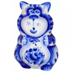 Кот-солонка 8.5 см, арт 1031