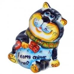 Кот цветной 11 см, арт 1048