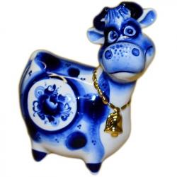 Корова с позолотой 11.5 см, 2865
