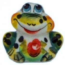 Лягушка цветная, 4.5 см, арт 4066