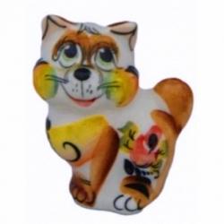 Кот цветной 6.5 см, арт 1093