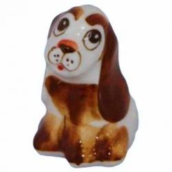 Собачка цветная, 4.5 см, арт 2044
