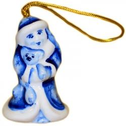 Елочная игрушка Снегурочка 6.5 см, 2716