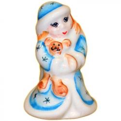 Сувенир Снегурочка 6.5  см, 2710