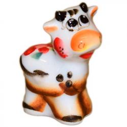 Сувенир теленок цветной, 4.7  см, 2819