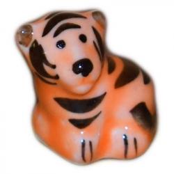 Тигр гжель 2,8 см., 2967