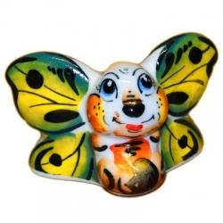 Бабочка цветная 4.8 см, арт.4043