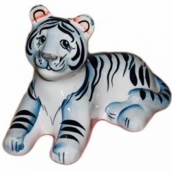 Тигр фарфоровый 14,5 см., 2990