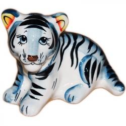 Тигр цветной 10,5 см., 2988