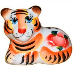 Тигр цветной 7,5 см., 2952