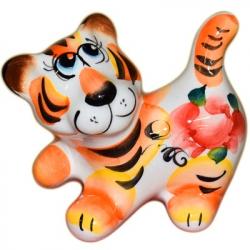 Тигр цветной 8,5 см., 2928
