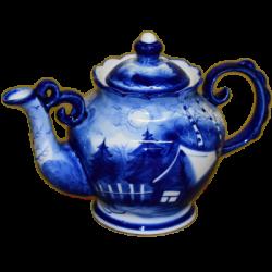Чайник, арт. 9136, 22х15 см, 0.6 л.