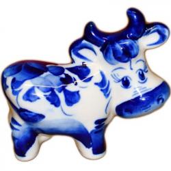 Корова Гжель, 9 см, 2813