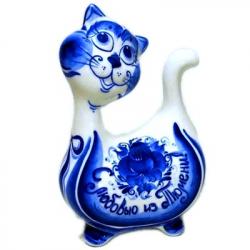 """Кот с надписью """"Привет из Тюмени"""""""