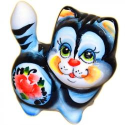 Кошка цветная 7 см., 1012