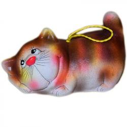 Сувенир кот колокольчик