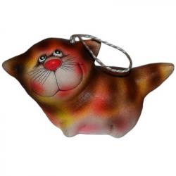 Кот-колокольчик керамика в ассортименте 10 см., арт. 1142