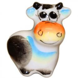Коровка малая  цветная 3.2 см., 2855