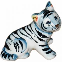 Тигр фарфоровый 10 см., 2989