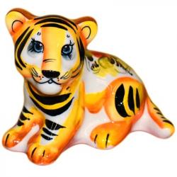 Тигр цветной 10,5 см., 2942