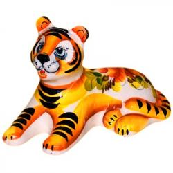 Тигр фарфоровый 14,5 см., 2940