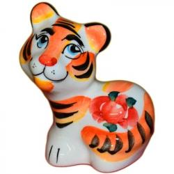 Тигр цветной 7 см., 2954