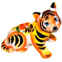Тигр фарфоровый 10 см., 2938
