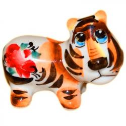 Тигр цветной 8,5 см., 2966
