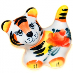 Тигр цветной 6,5 см., 2936