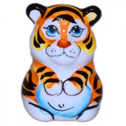 Тигр цветной 4 см., 2970
