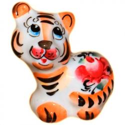 Тигр цветной, 6 см., 2910